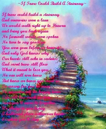 stairway to heaven poem st joseph s regional cancer center presents the 18th annual love. Black Bedroom Furniture Sets. Home Design Ideas