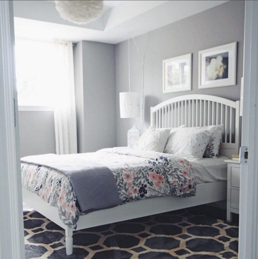 Turtles And Tails Master Bedroom Before And After: Stormy Monday Benjamin Moore