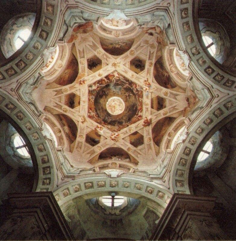 Bernardo Antonio Vittone. Santuario del Vallinotto. Carignano (dal 1738)