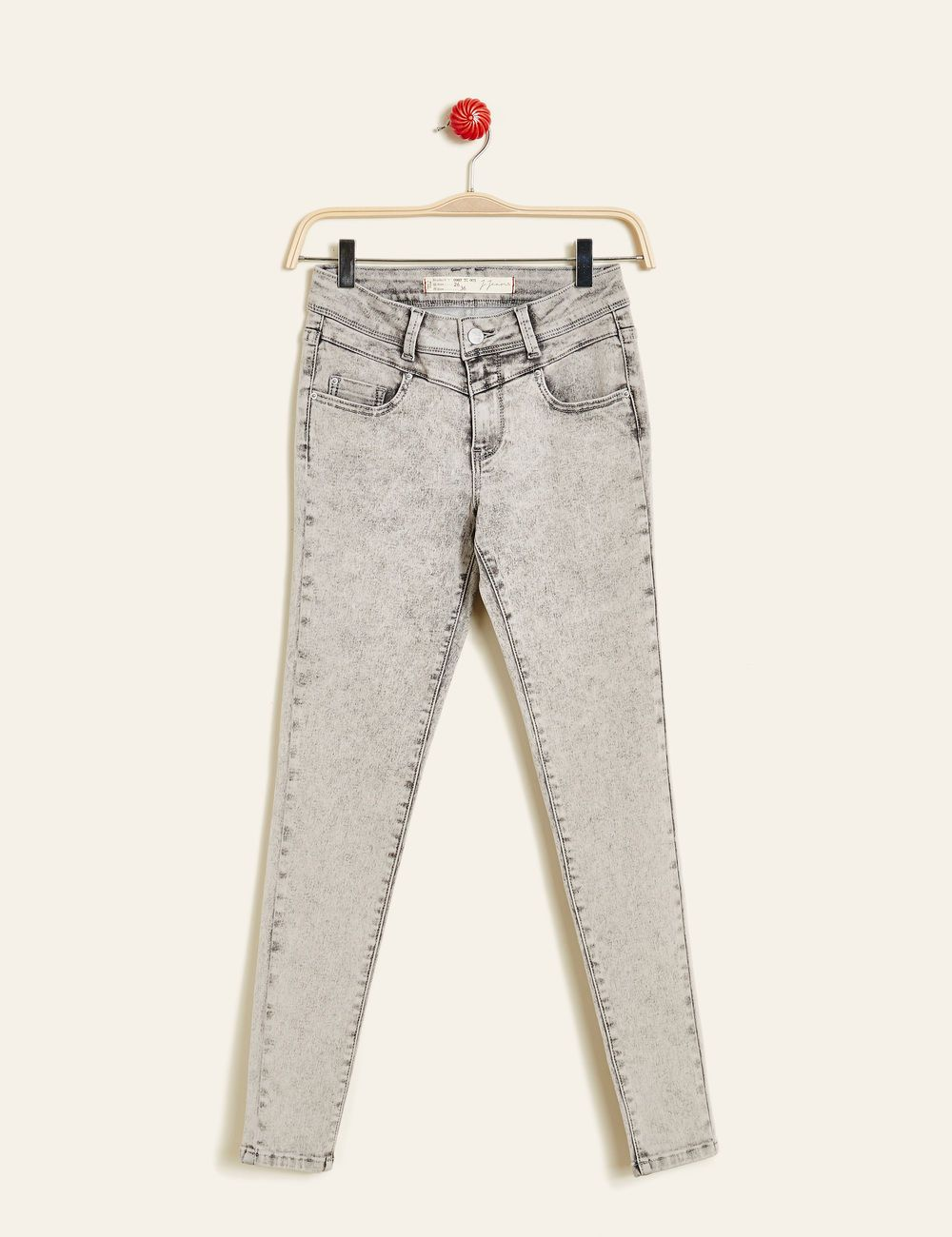 undefeated x authentic quality reliable quality Jean super skinny gris femme • Jennyfer | [Vêtement ...