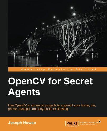 OpenCV for Secret Agents Products Pinterest Products