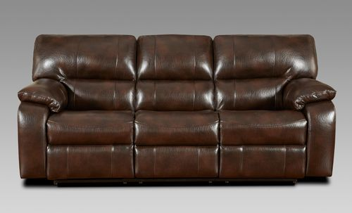 Affordable Furniture Canyon Chocolate Double Recliner Sofa 1300