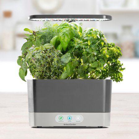 Exclusive Aerogarden Harvest Grey With Gourmet Herbs Seed Kit 640 x 480