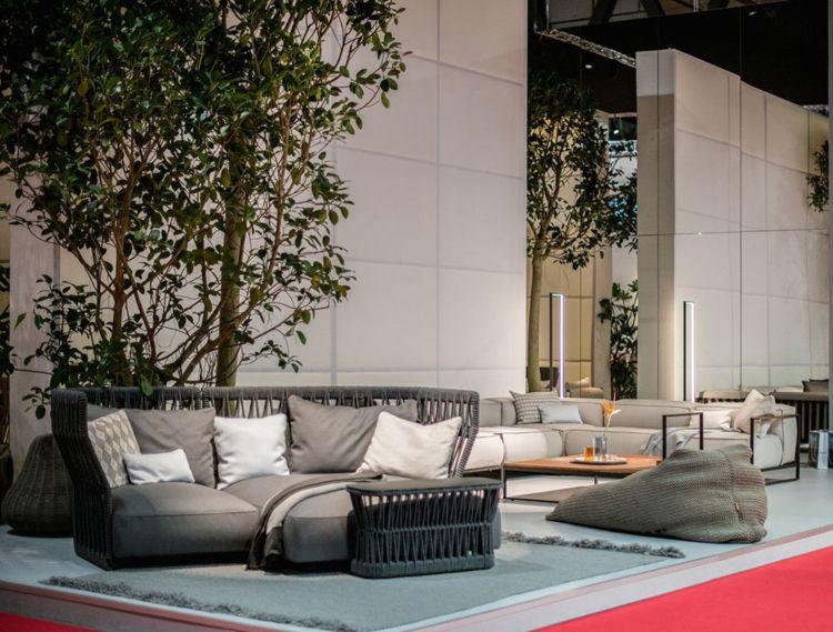 loungemoebel garten set italienisch tagesbett Terrasse Pinterest