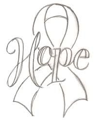 Image Result For Awareness Ribbon Coloring Page