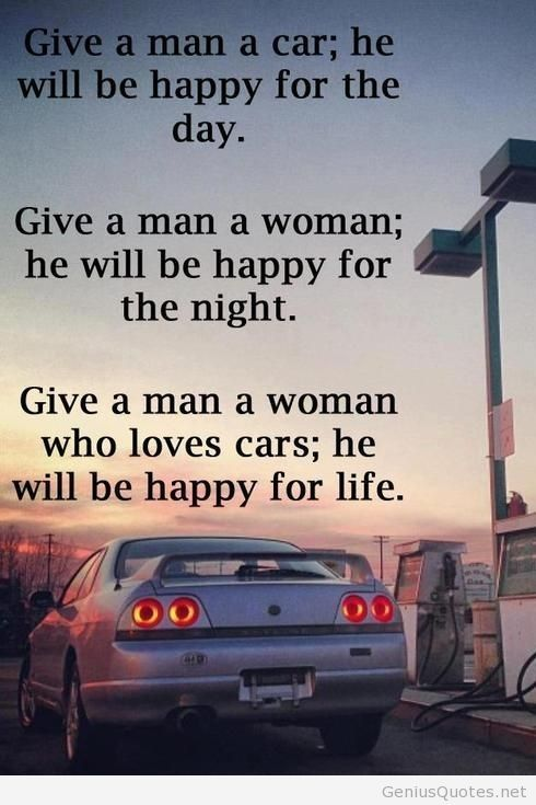 Car Quote Endearing I Love His Passion For Cars Car Quote With Image  Quotes