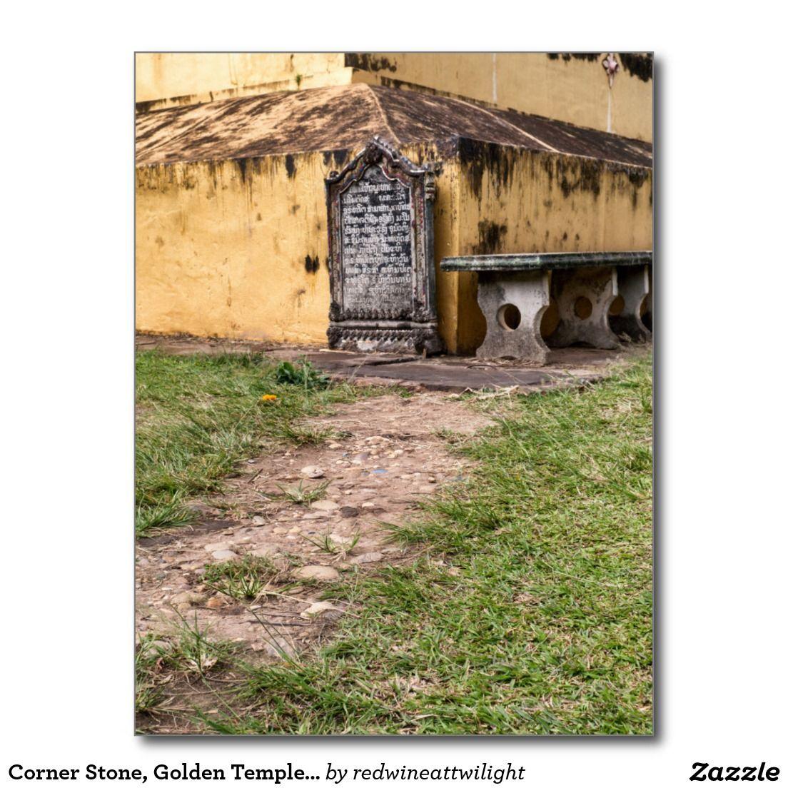 Corner Stone, Golden Temple (Great Sacred Stupa) Postcard