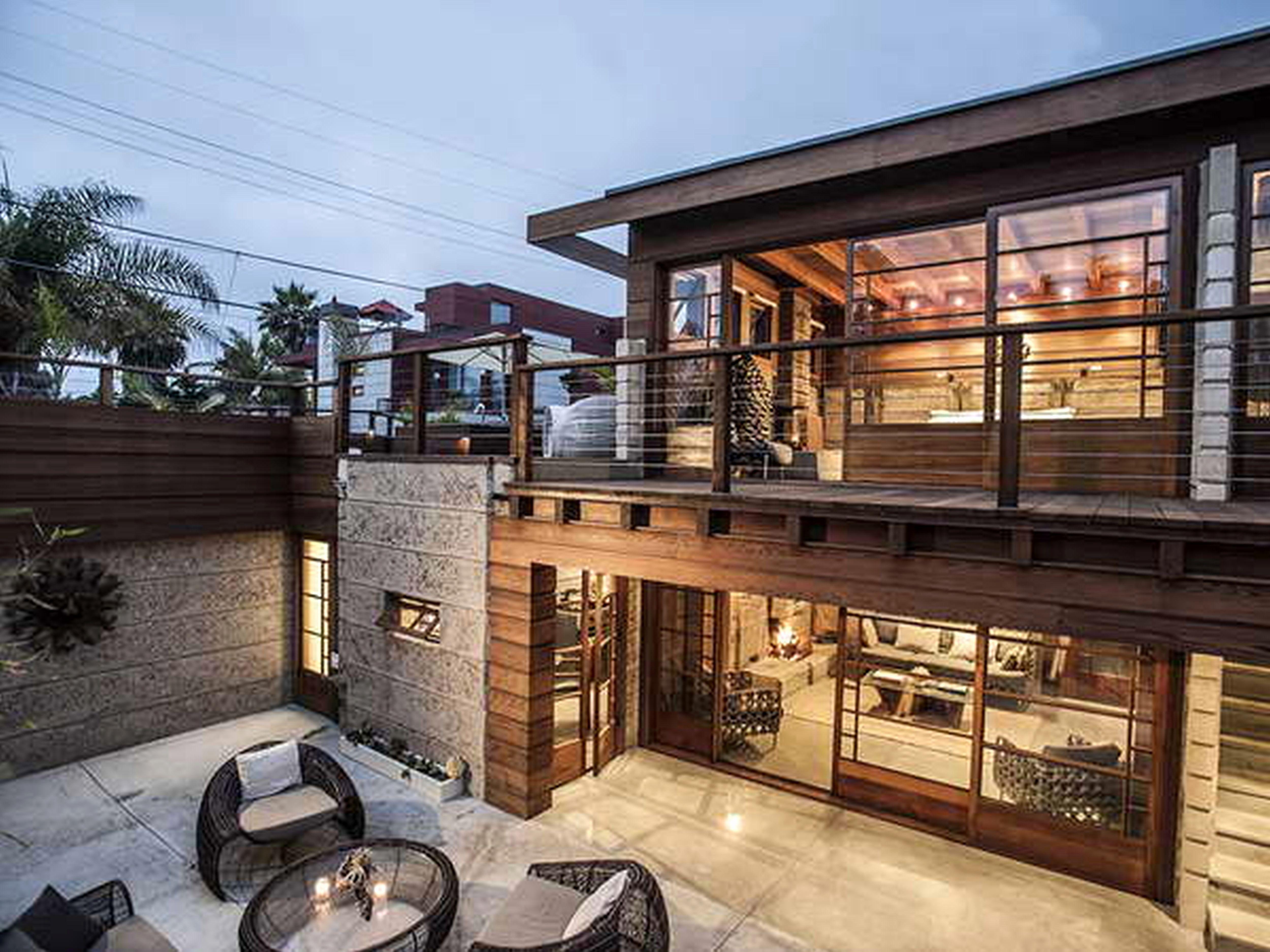 Modern Lake House Plans Rumah Mewah Rumah Desain Rumah
