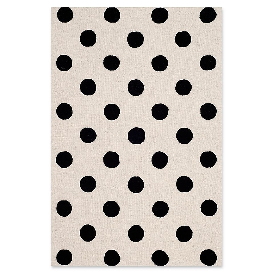 Safavieh Kids Dots 4 X 6 Rug In Black Area Rugs Colorful Rugs