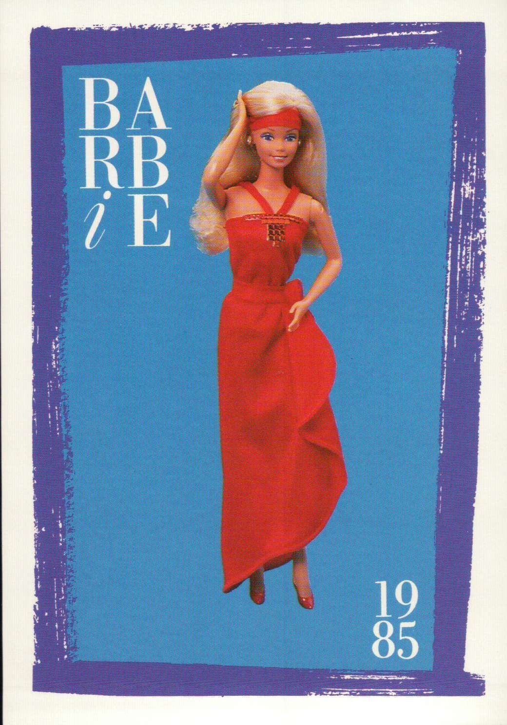 """Barbie Collectible Fashion Trading Card  /"""" Pretty Changes Barbie /""""  1979"""