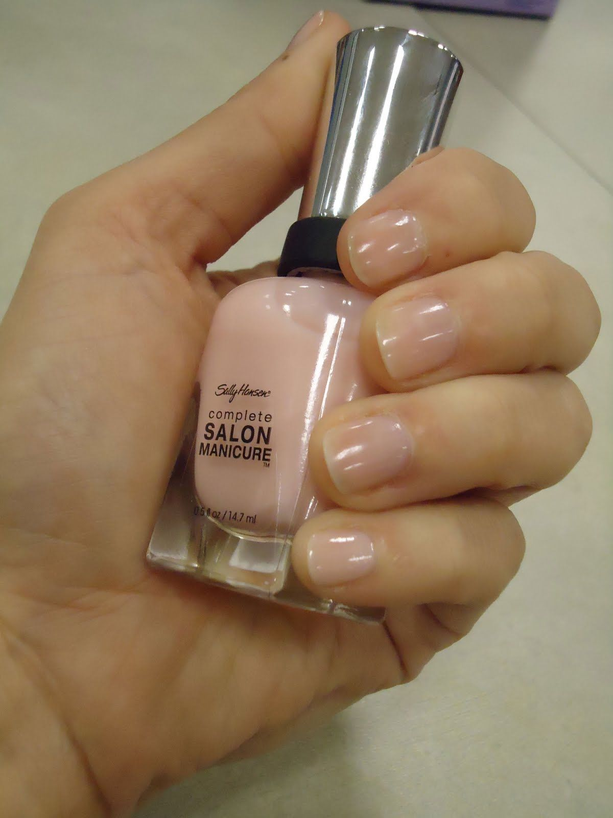 Score! The PERFECT natural shade for me. Just a hint of color and shine.  Sally Hansen Shall We Dance? Yes, yes we shall.