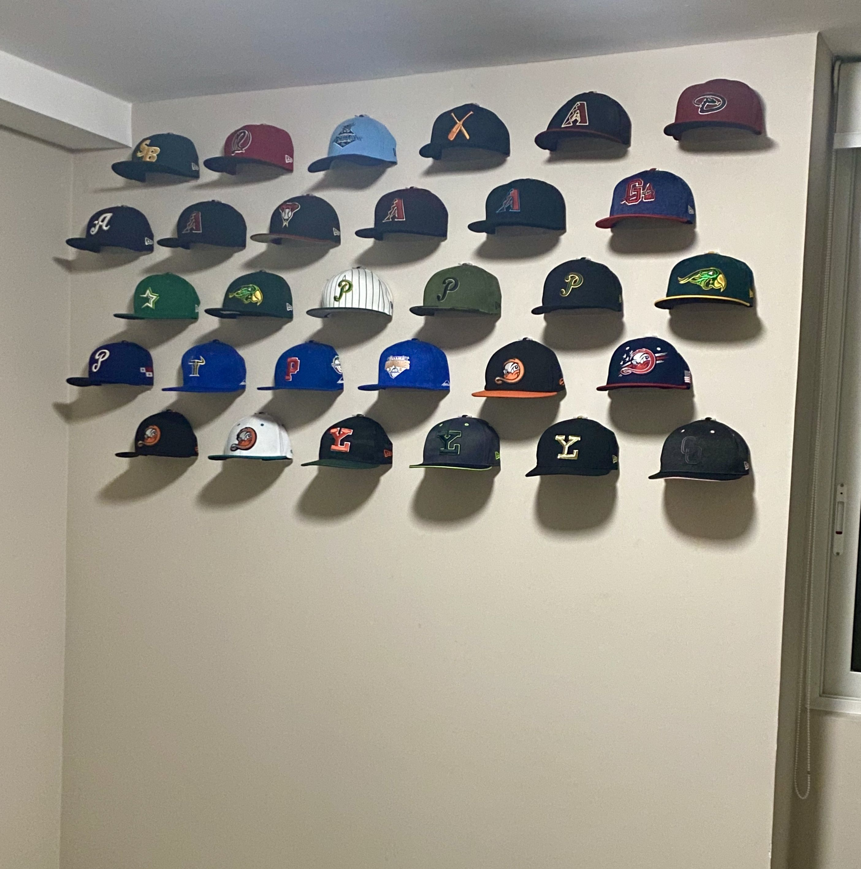 Baseball Cap Display Baseball Wall Decor Cap Display Baseball Caps Display