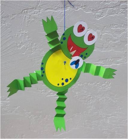 Frog Body Craft For Preschool