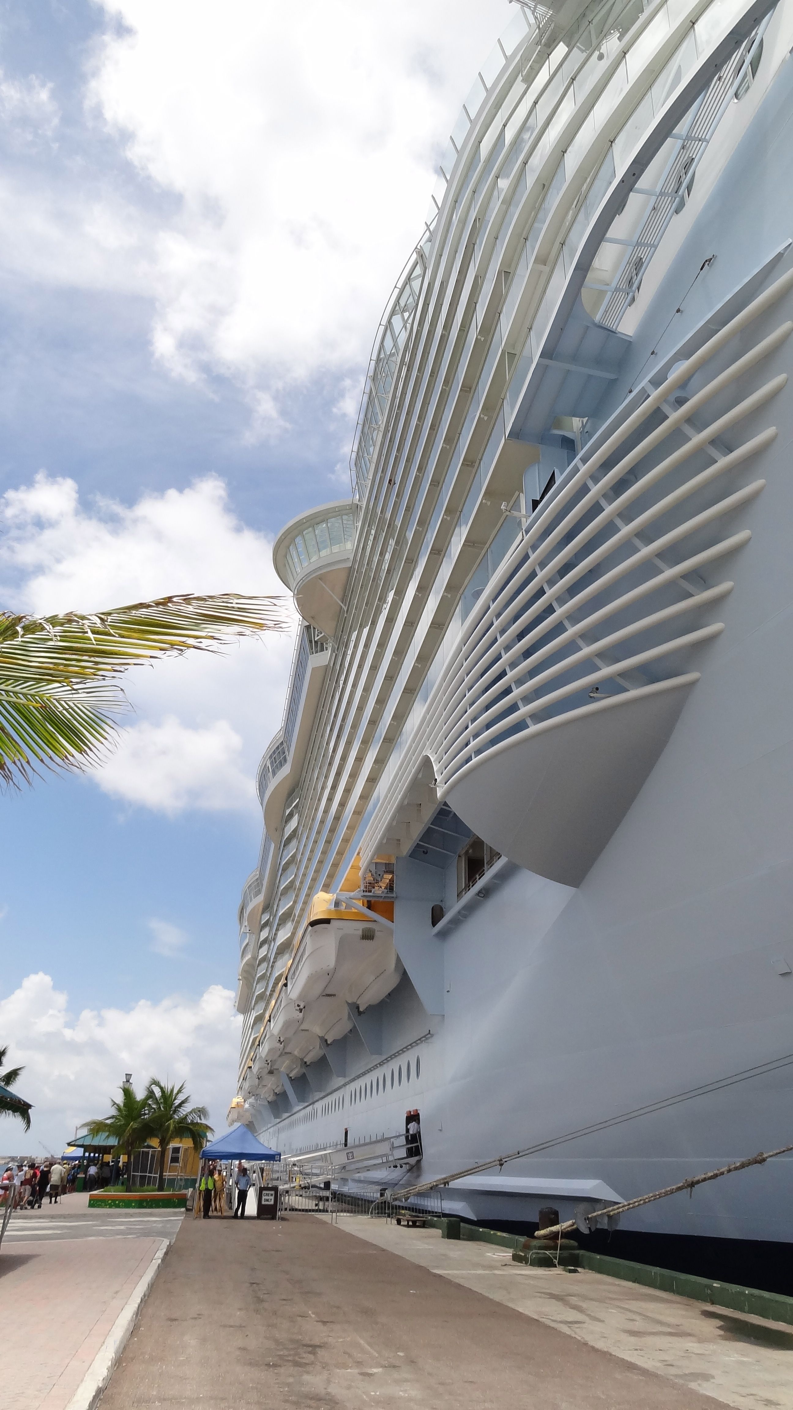 The beauty and size of the Allure of the Seas! | Cruise ship