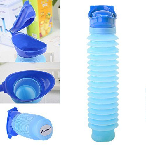 Emergency Urination Bottle 750 ML Camping Car Travel Urination Bottle for Women Toddlers