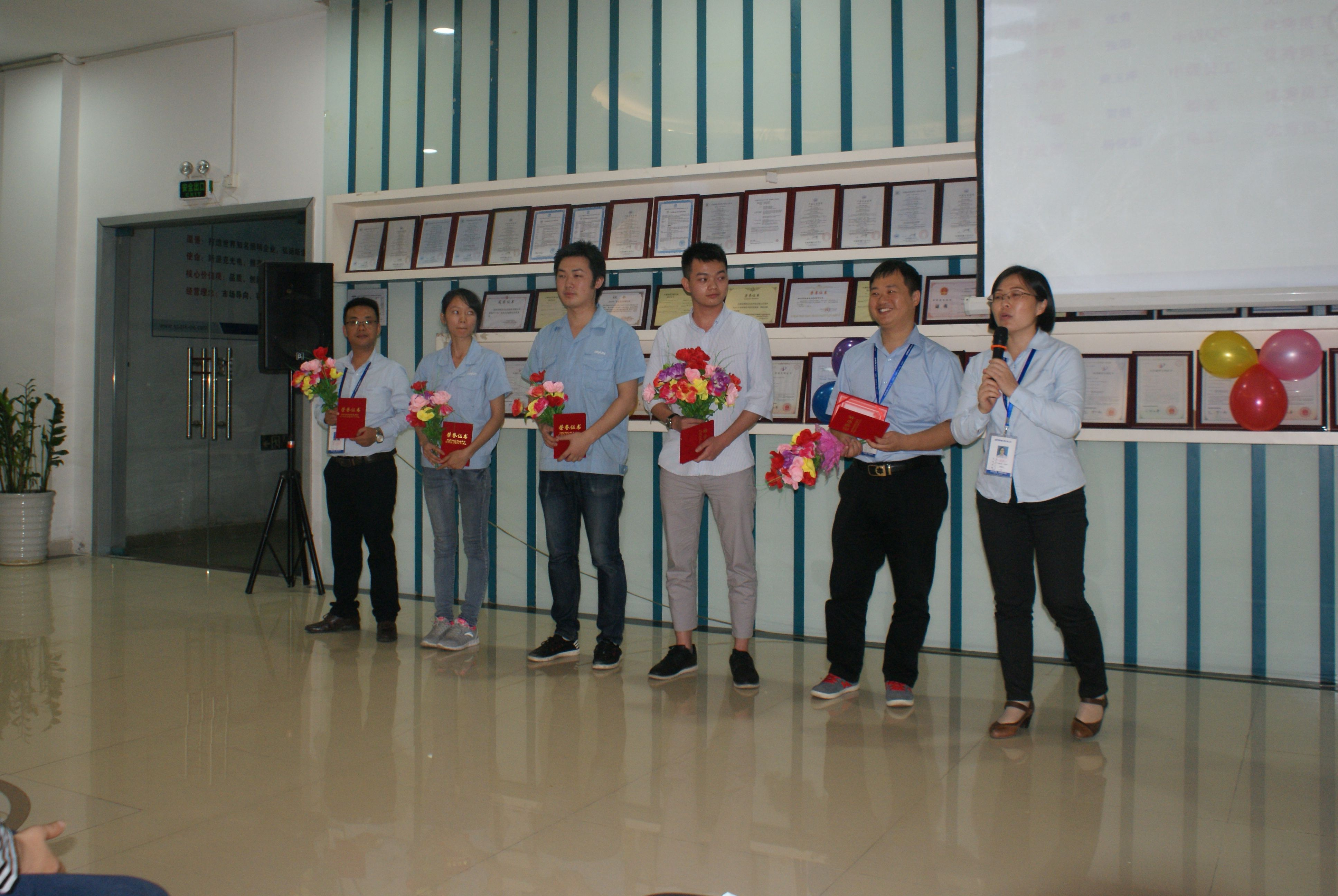 Spark LED Lighting Award Presentation
