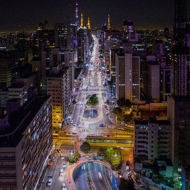 A Mais Bonita Das Avenidas Avenida Paulista Sao Paulo Brasil