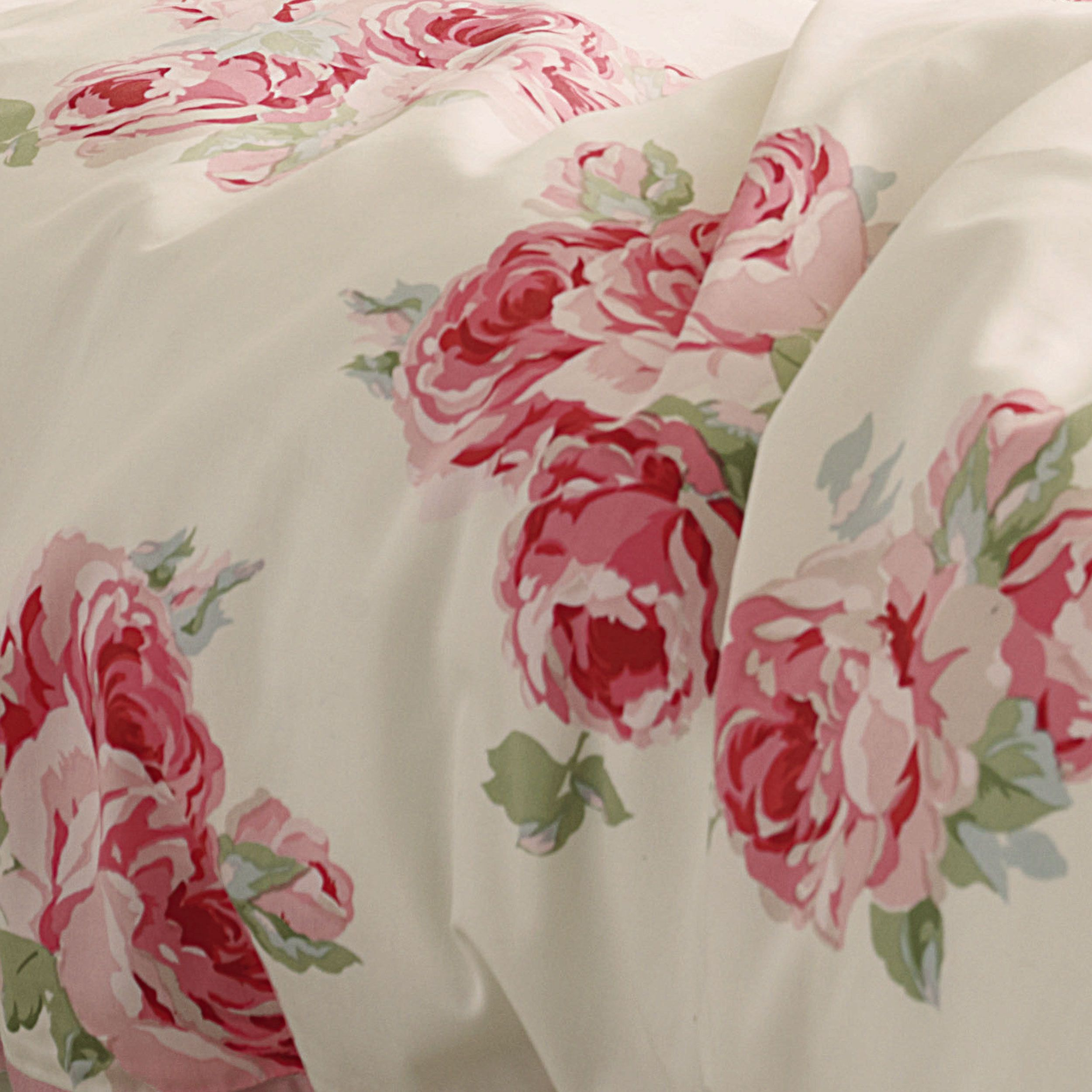 Laura Ashley Couture Rose Cotton Duvet Cover