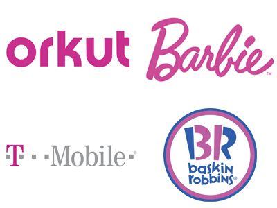 Sociétés utilisant le Rose dans leurs Logos. http://designer-blog.studiokarma.fr/quelles-couleurs-choisir-pour-votre-logo/