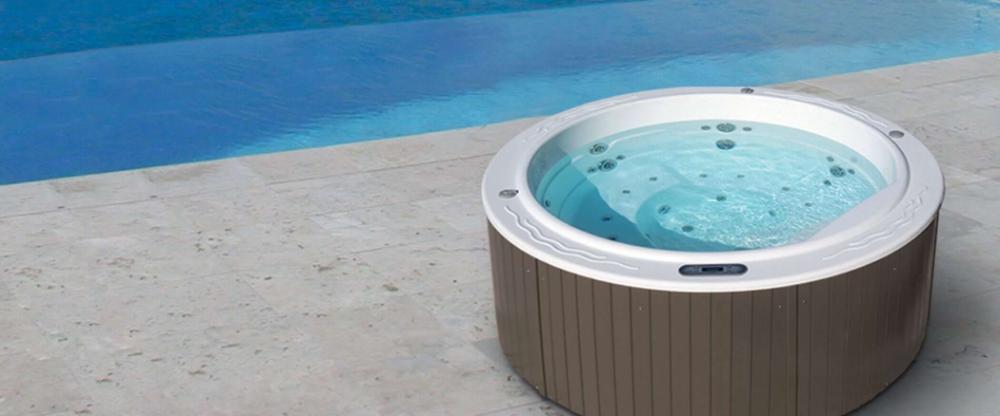 Buy The Round Hot Tub Sundown Aquavia Spa Uk In 2020 Portable Hot Tub Round Hot Tub Spa Uk