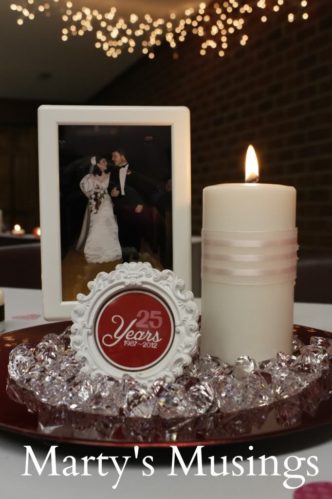 25 Year Wedding Anniversary Party Decor Ideas Home Entertaining