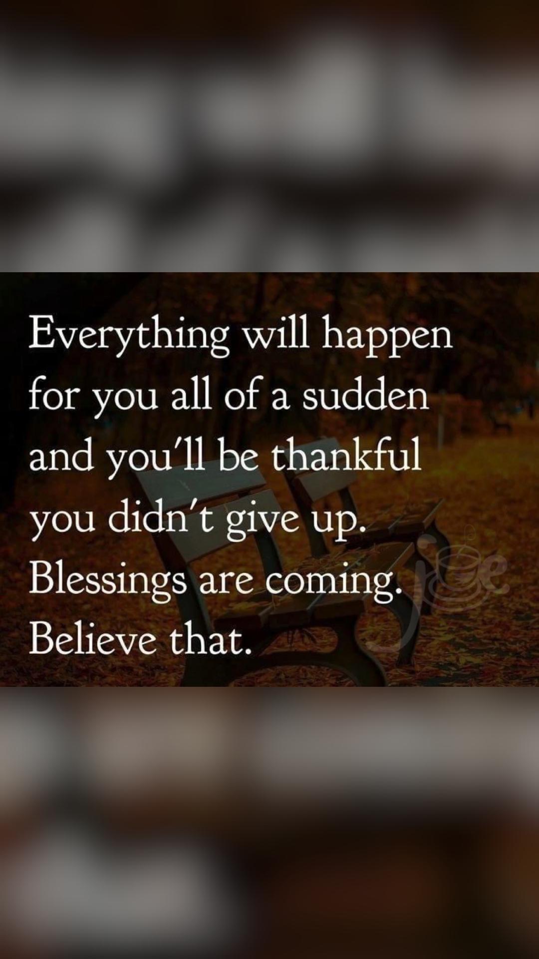 Blessings, Joy & Refreshing