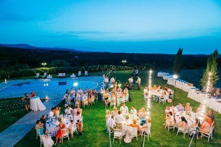 Wedding Dinner After Villa In Crete By Moments Weddingincrete