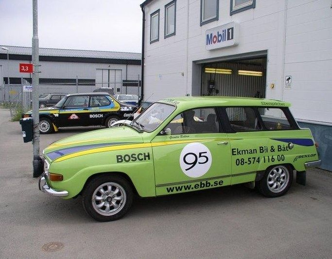Saab garage sweden saab pinterest volvo cars and rally for Garage saab lyon