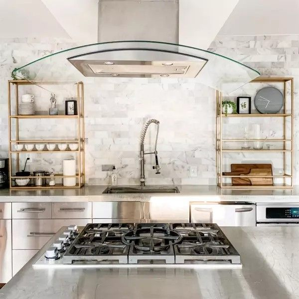 pin by kathy c on kitchens in 2020 shelves home decor shops on zink outdoor kitchen id=14210