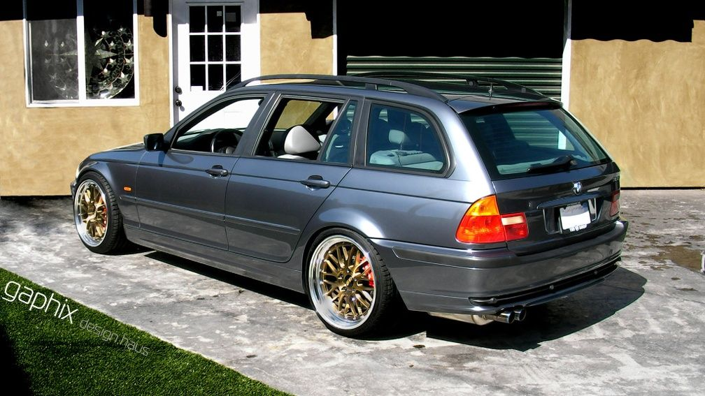 E46 Wagon On Bbs Lm S With Images Bmw Touring E46 Touring