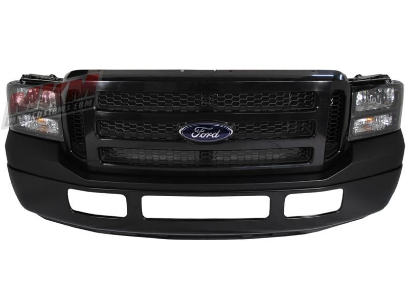 Ford Full 07 Front End Conversion For The 99 04 Super Duty X2f Excursion Paintable Ford Excursion Diesel Ford Excursion Powerstroke