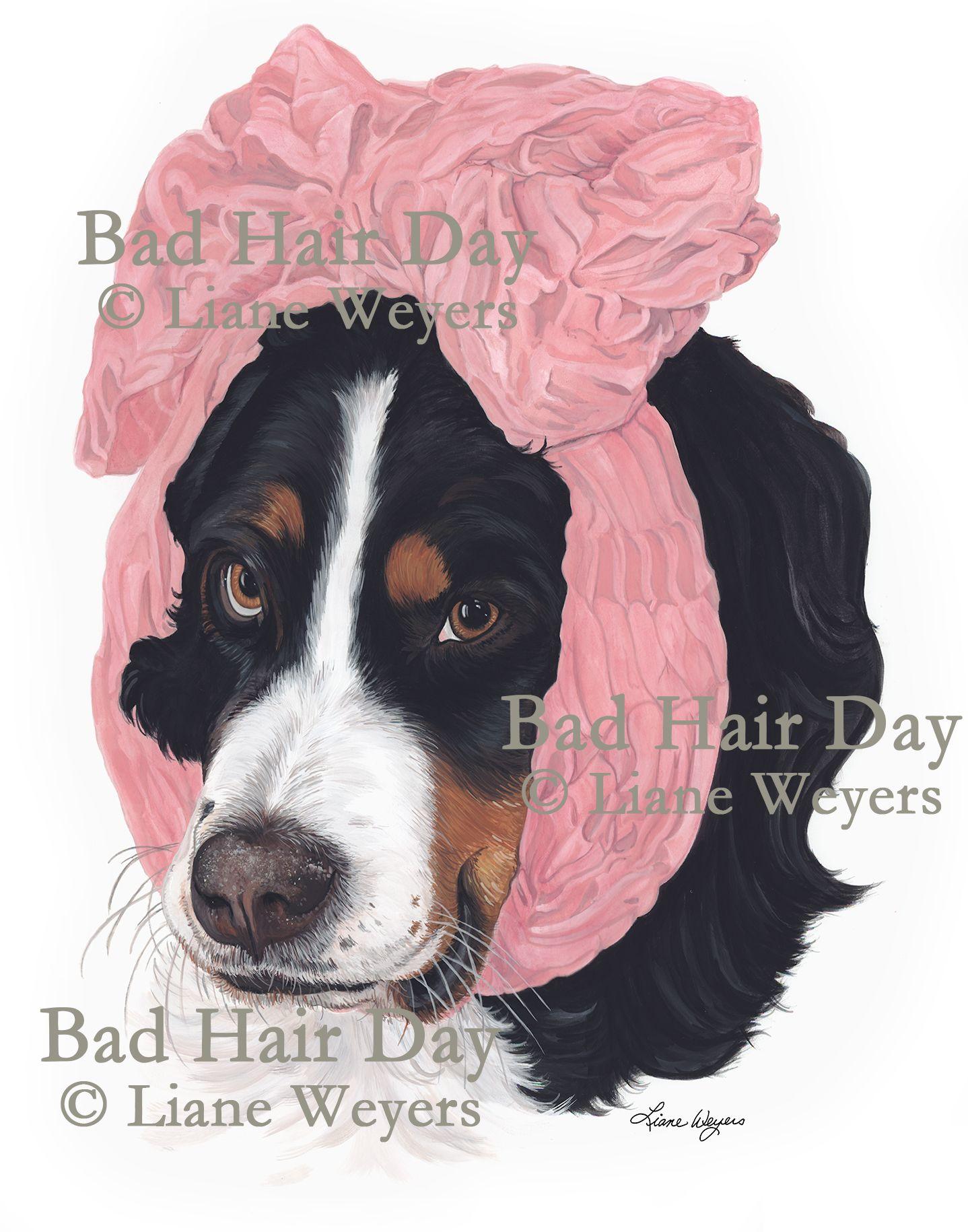 Bad Hair Day- By Artist Liane Weyers.
