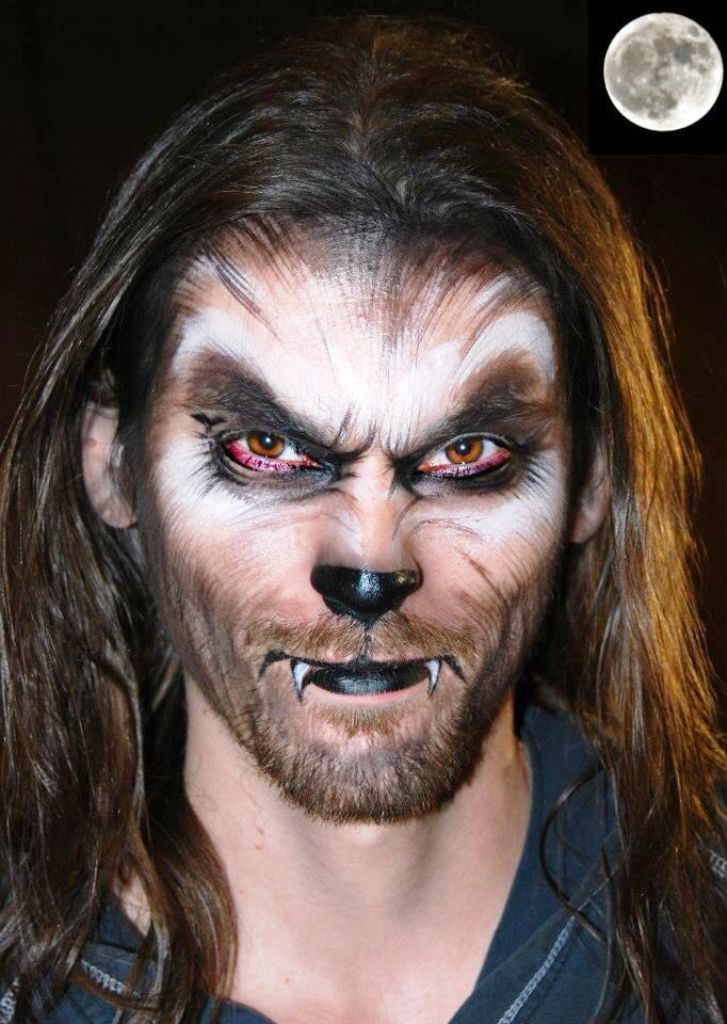 Amazing 25 Halloween Wolf Makeup Ideas Werewolf makeup