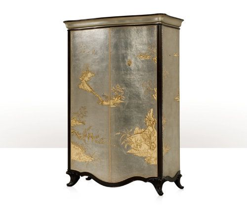 The Argento Armoire Furniture Bedroom Cabinets Luxury Furniture