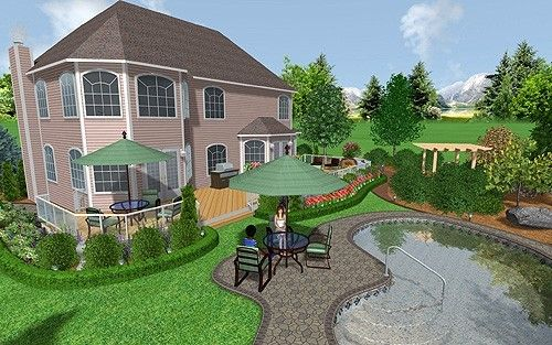 Landscaping software download realtime landscaping - Best home and landscape design software ...