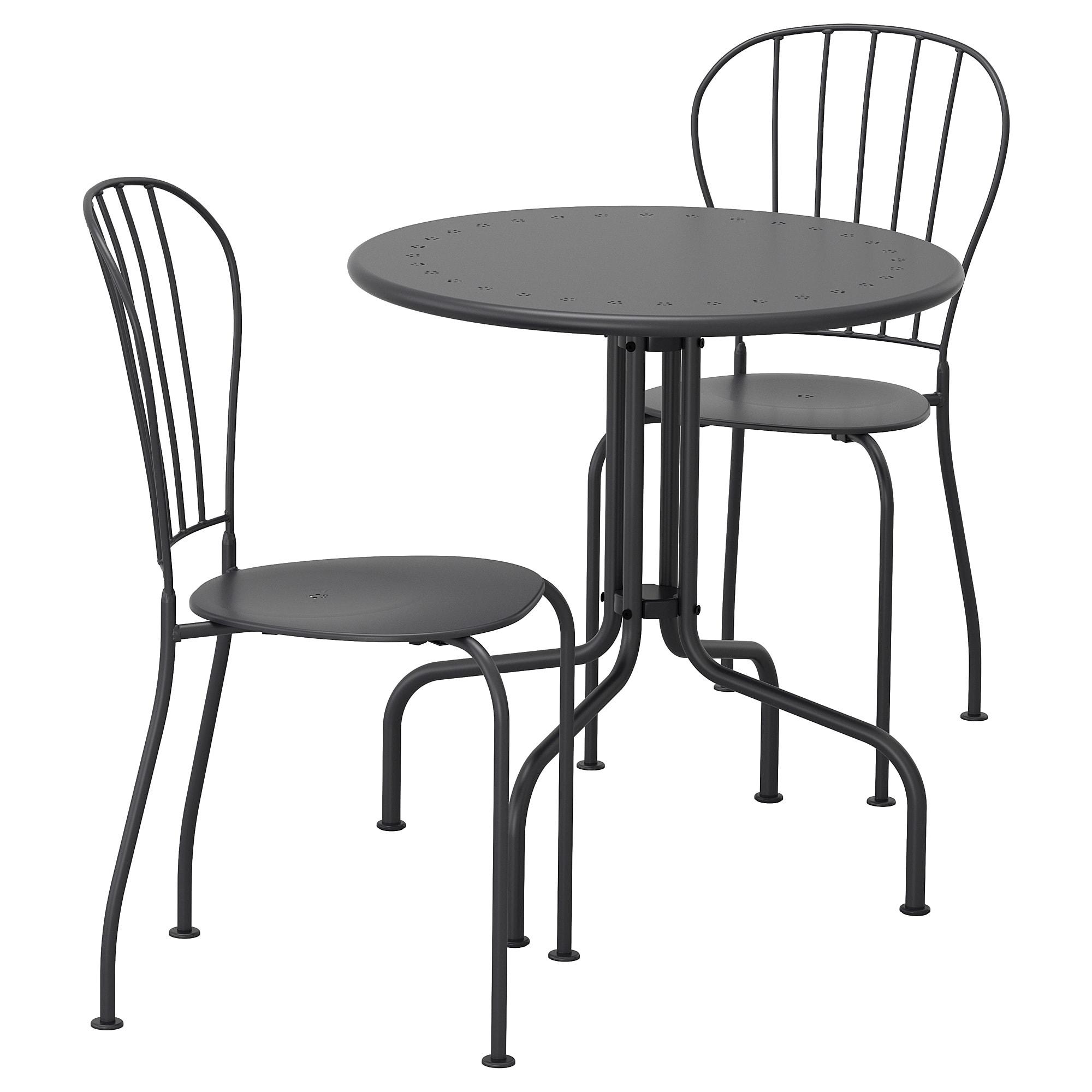 Lacko Bistro Set Outdoor Gray Ikea Ikea Outdoor Furniture Used Outdoor Furniture Rustic Outdoor Furniture