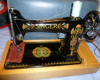 Singer 401G Slant-o-matic Embroidery stitches Sewing Machine Sewing light, darning,Embroidery and Button sewing, Twin needle sewing, zig-zag stitch with width control adjustment, reverse. Cams can be used to sew more decorative stitches of your choice Has drop feed to allow for freehand Embroidery Good working condition INSTRUCTION MANUAL and foot pedal and leads included as well as hard case Please see all pictures for more detail as they form part of the description