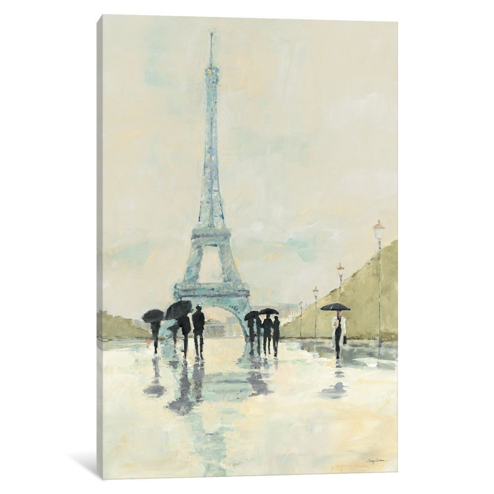 iCanvas April in Paris by Avery Tillmon Canvas Print