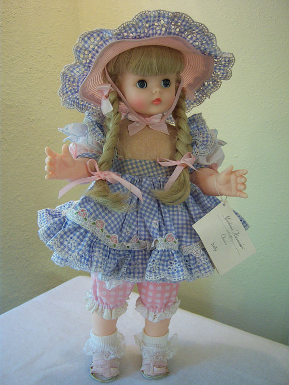 WHITE  Cotton SOCKS FOR 8 INCH DOLL  GINNY ALEX Ginger Muffie Hand Made