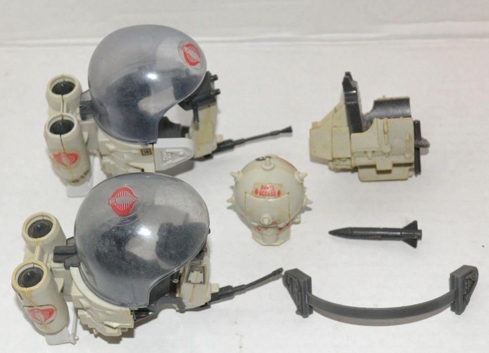 GI Joe Flight Pod Missile Vtg part 1985 Cobra