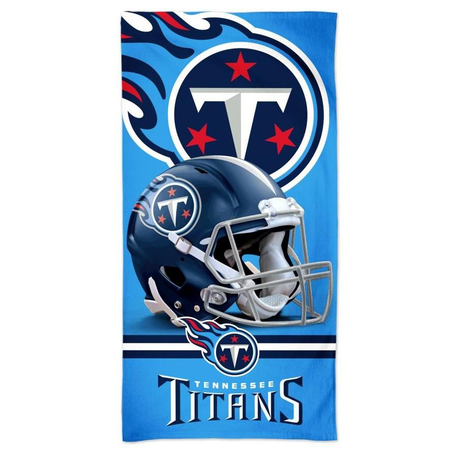 Wincraft Sports Officially Licensed Tennessee Titans Beach Towel Lowes Com In 2020 Tennessee Titans Tennessee Titans Logo Titans Football