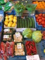 Groenten markt