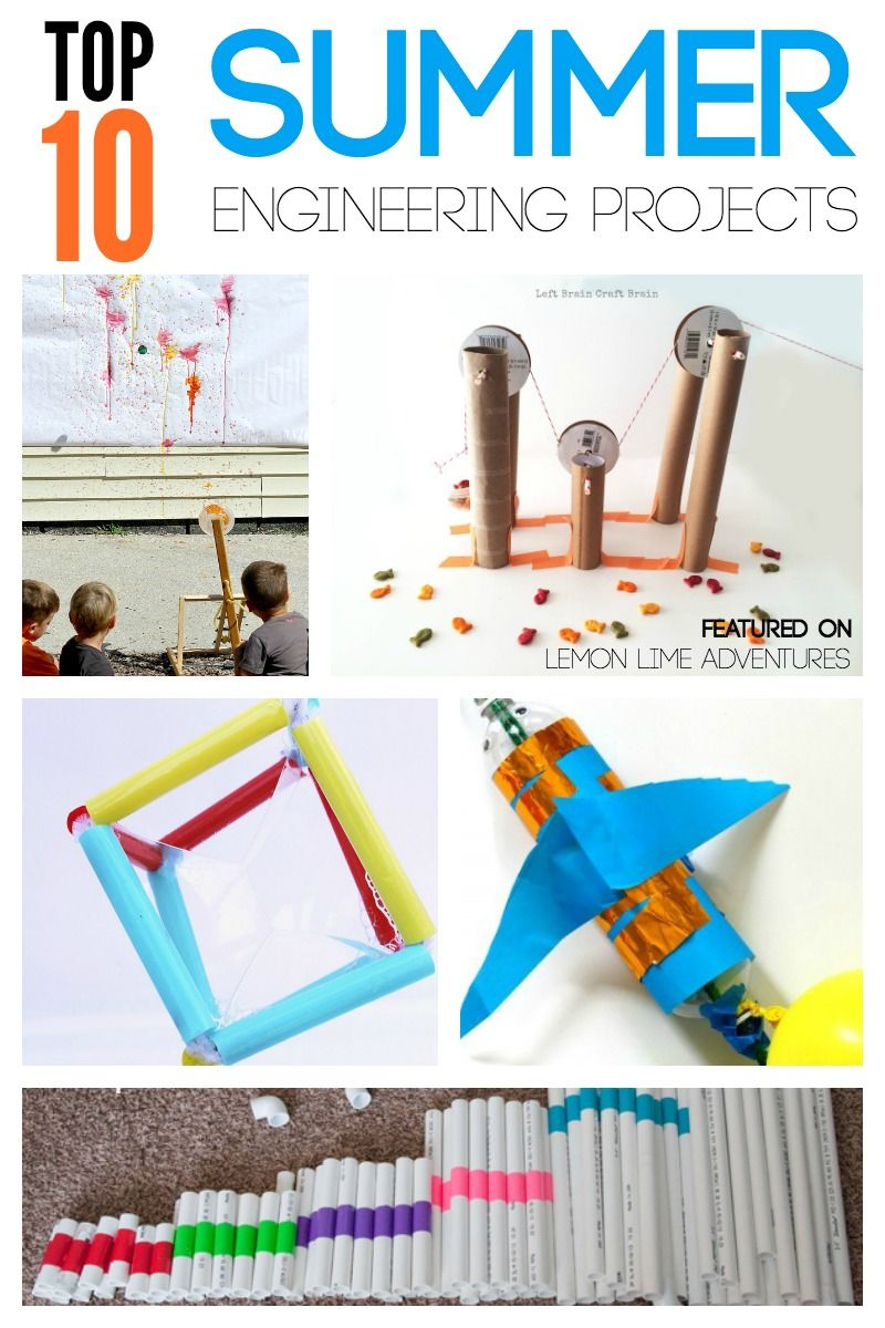 10 Summer Makeup Must Haves: Top 10 Summer Engineering Projects For Kids