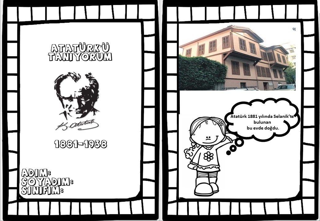 10 Kasim Etkinlikleri Ataturk Ataturksevgisi 10kasim Faaliyetler Okul Oncesi Etkilesimli Defterler
