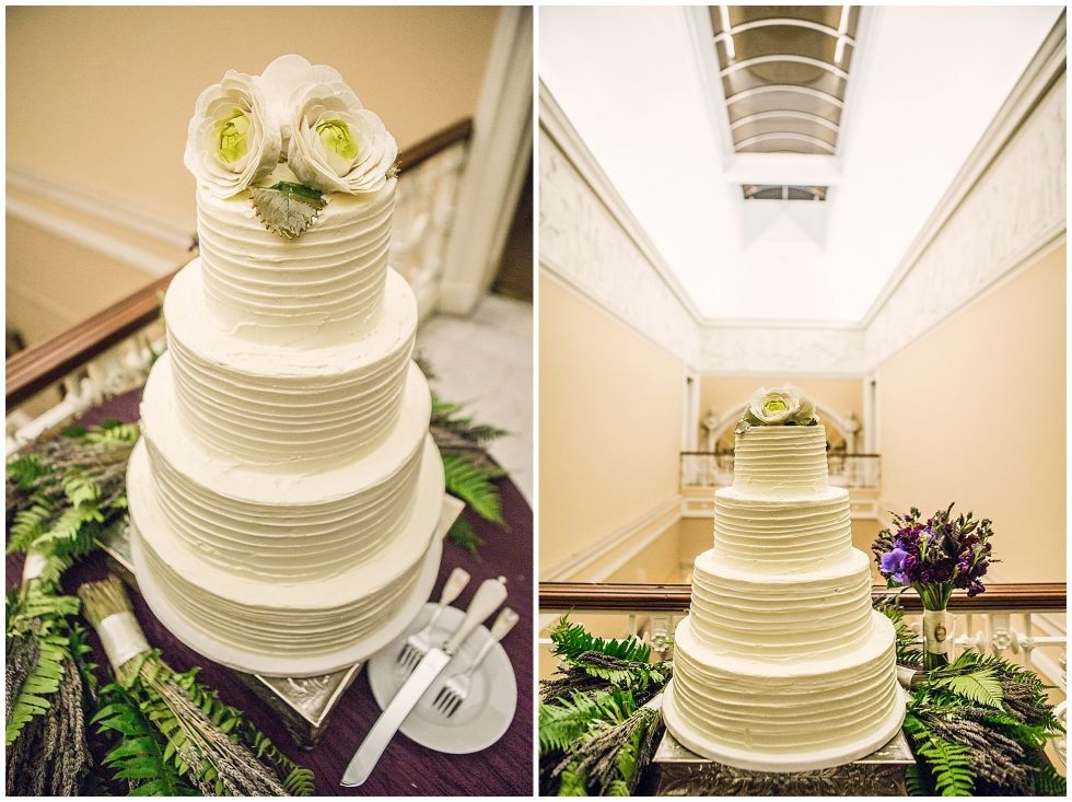 Sara and Nick – Savannah Wedding Photographer - raw buttercream cake ...