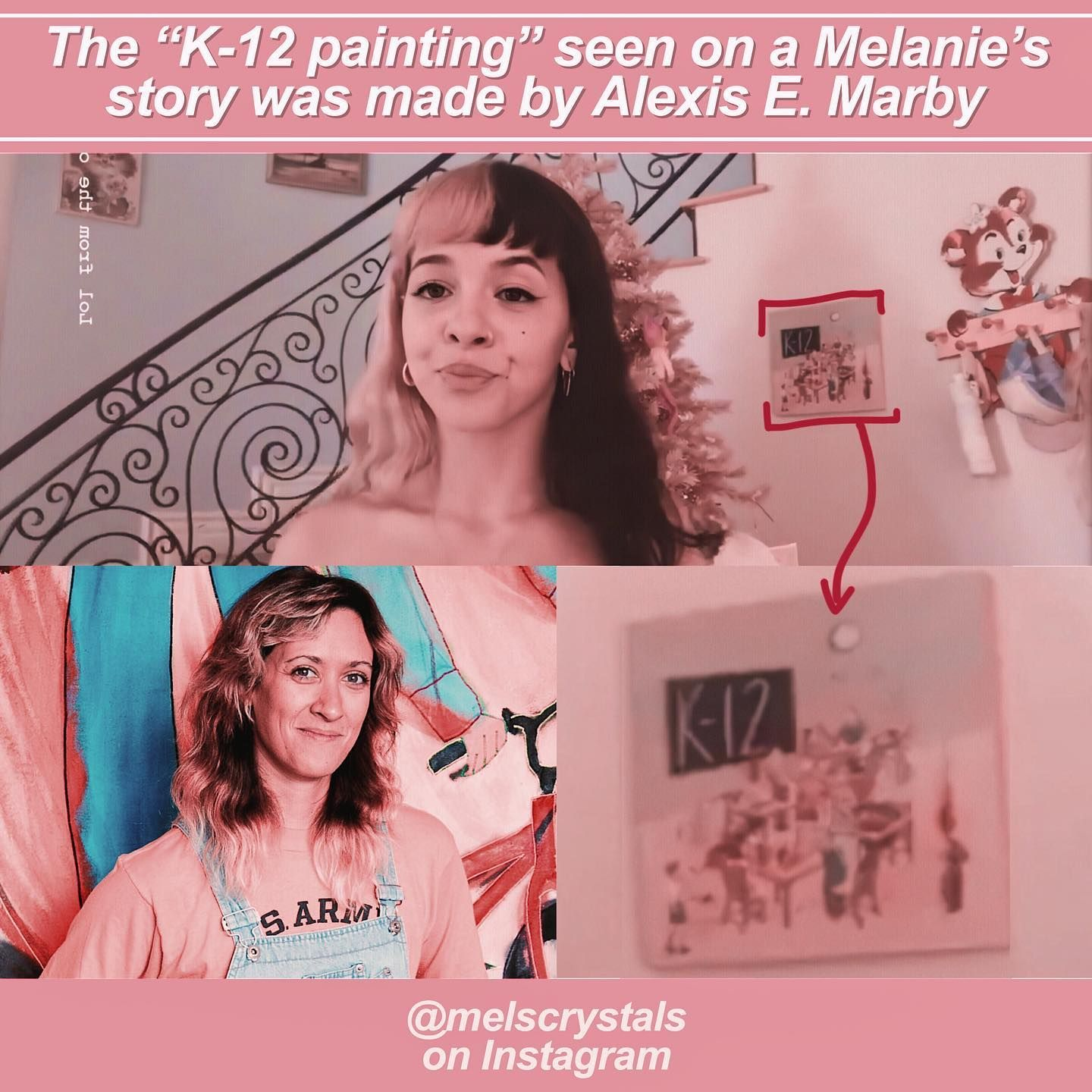 Mabry Lol Sorry If You Were Wondering Who Made That Art It Was A E Mabry Who Made This Piece For Herecomes Melanie Martinez Melanie Best Albums