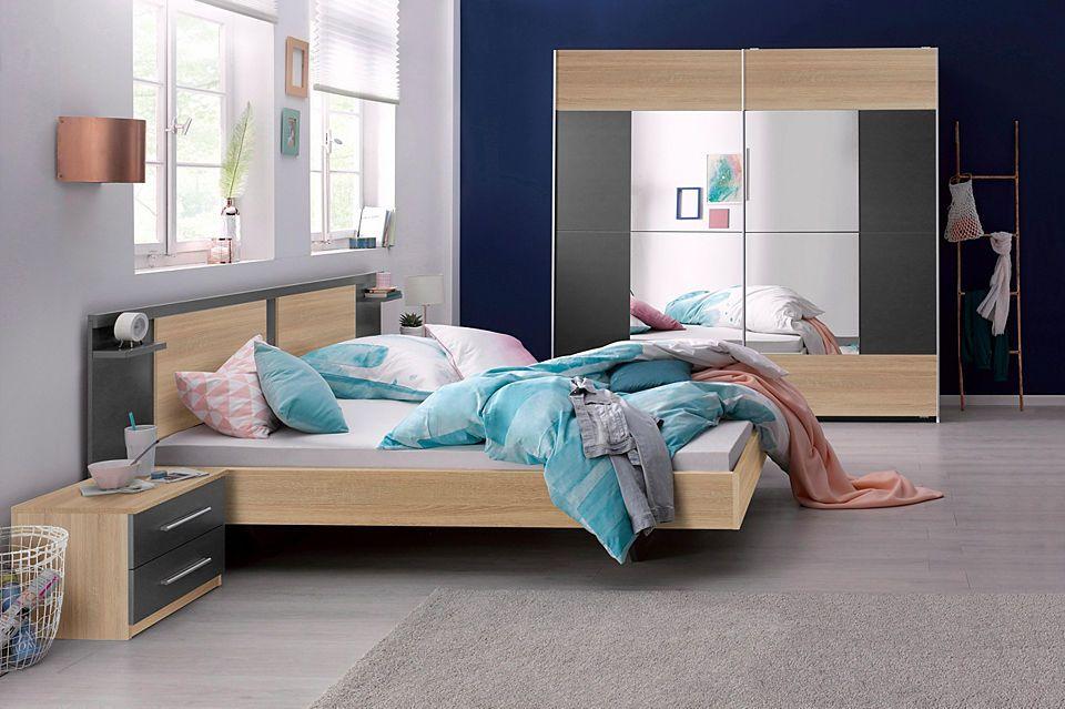 rauch Schlafzimmer-Set mit Schwebetürenschrank (4-tlg) Jetzt - komplett schlafzimmer günstig