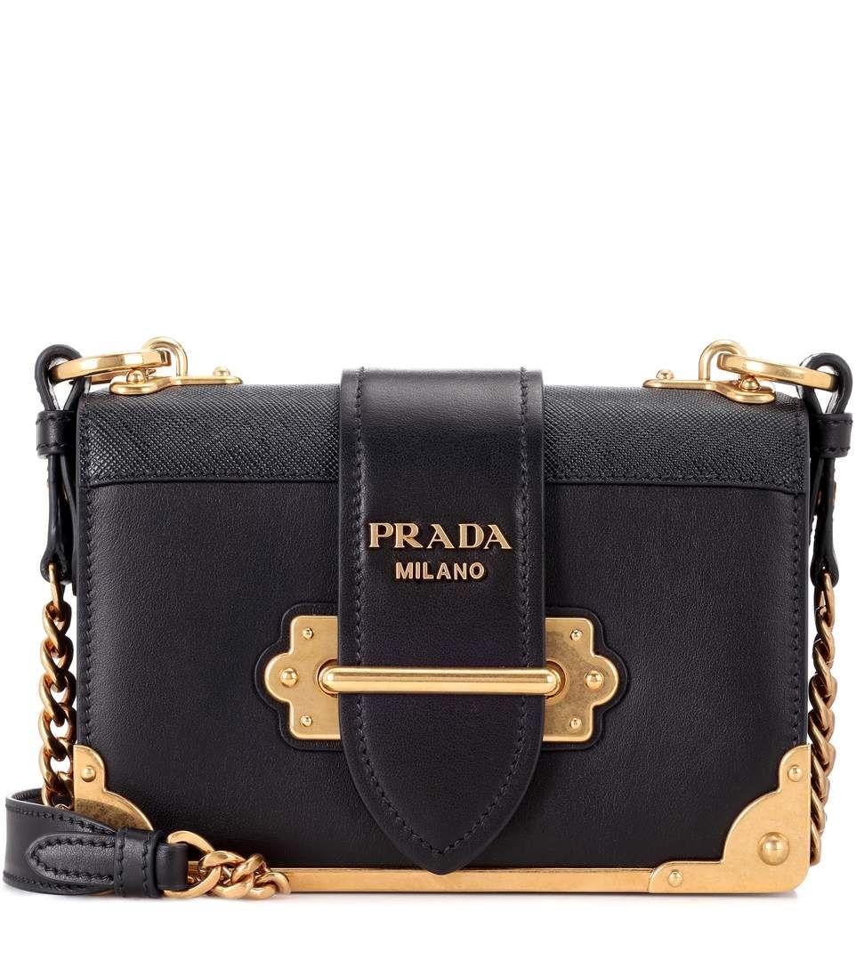3fa846430b de farfetch blanco Negro satchel estilo Carteras cartera mano bolso Prada  el XanRzw