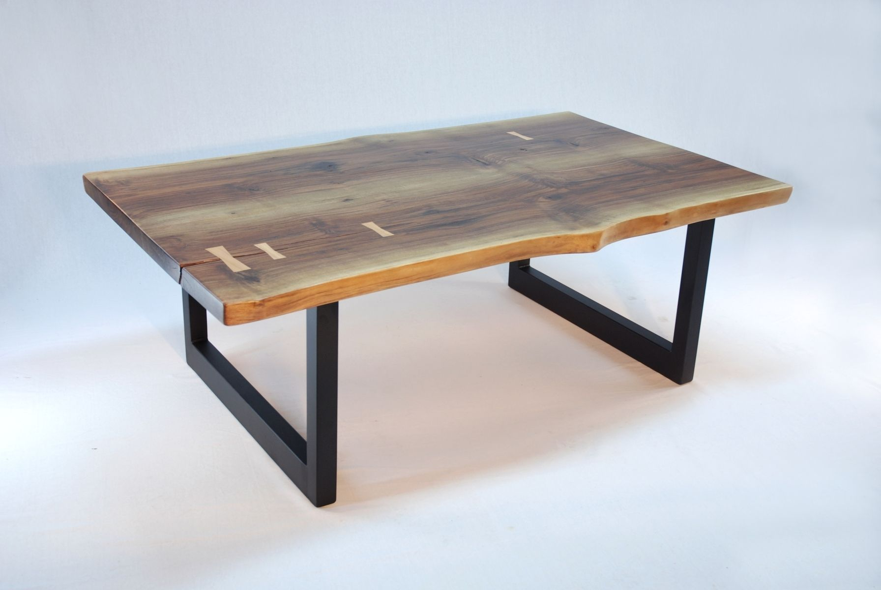 Minimalist Table Custom Made Aurora Minimalist Coffee Table Walnut Slab With Best