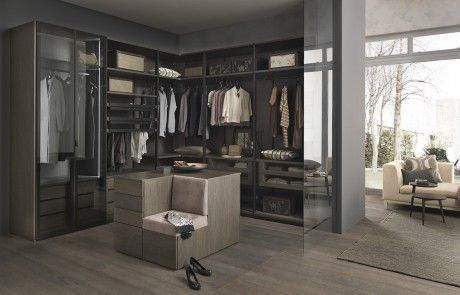 cabina armadio Kali di SMA | Walk in closet | Cabina armadio ...